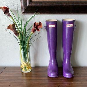 HUNTER Original Gloss Tall Rainboots